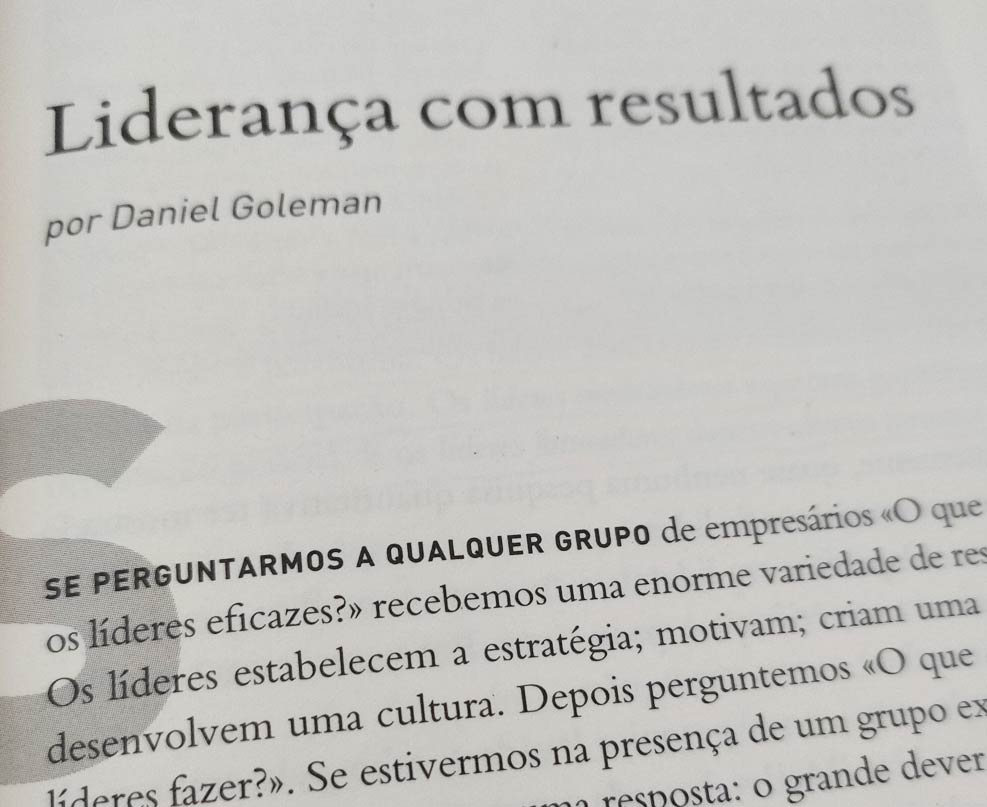 Harvard Business Press – Liderança Eficaz